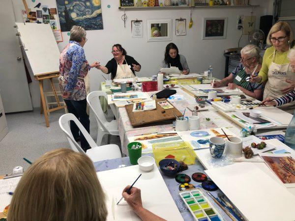 Studio Yellow - Watercolour 4