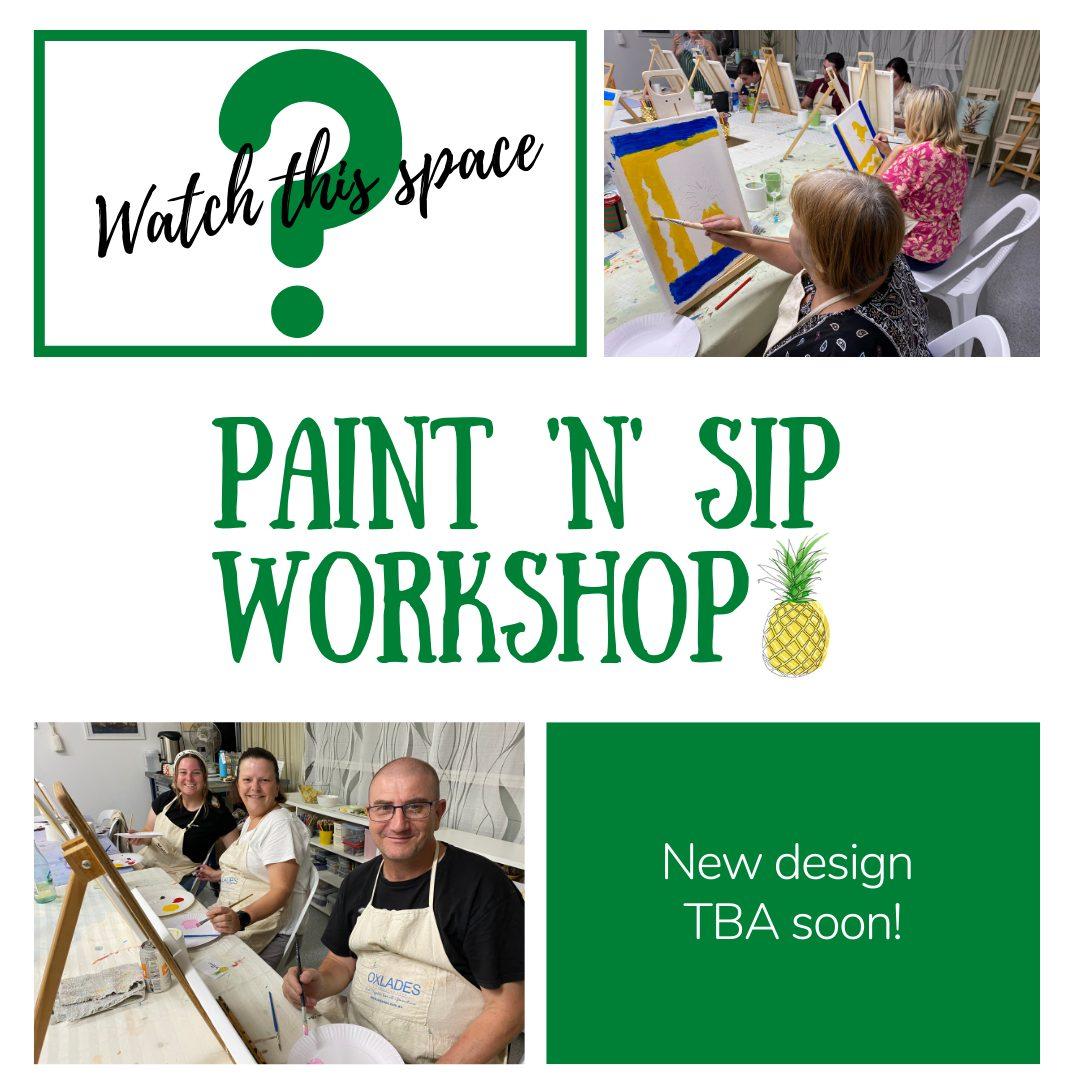 Studio Yellow - Paint n Sip